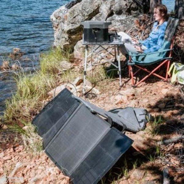 Ecoflow portable solar panel