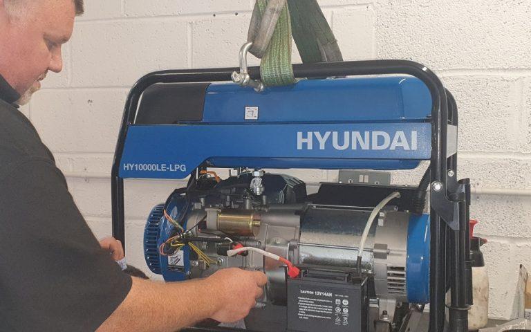 petrol generator service