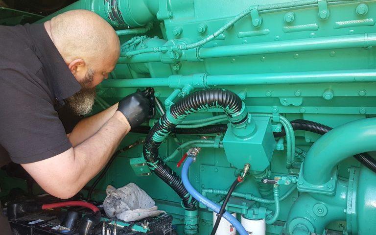 Generator repair small