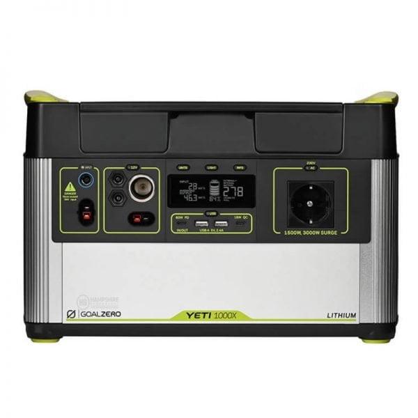 Goal Zero Yeti 1000X 1500W Lithium Portable Power Station