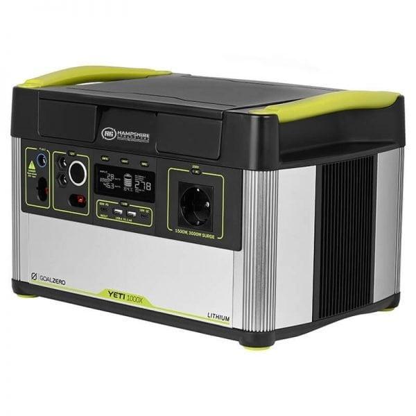 Goal Zero Yeti 1000X 1500W Lithium Portable Power Station Side View