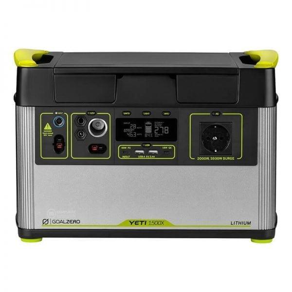 Goal Zero Yeti 1500X 2000W Lithium Portable Power Station
