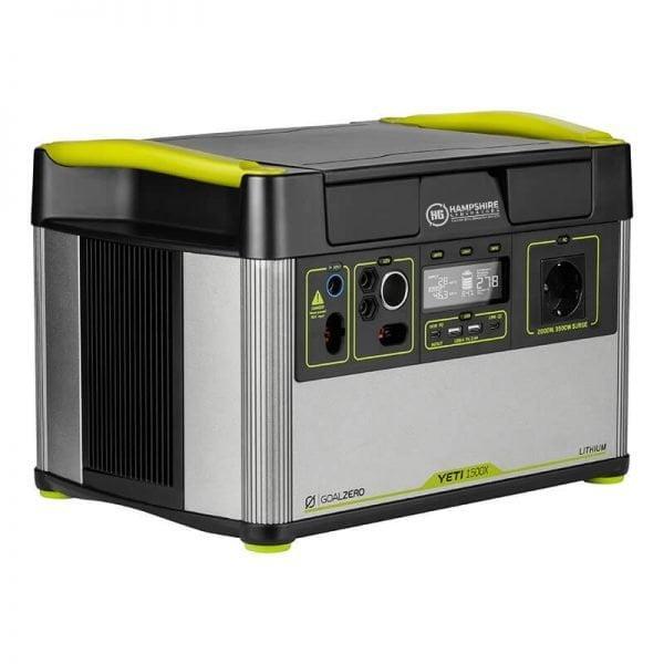 Goal Zero Yeti 1500X 2000W Lithium Portable Power Station Side View Right