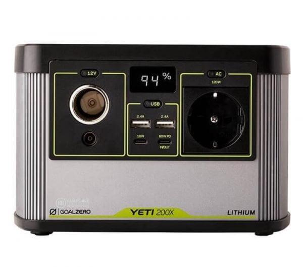 Goal Zero Yeti 200X 300W Lithium Portable Power Station