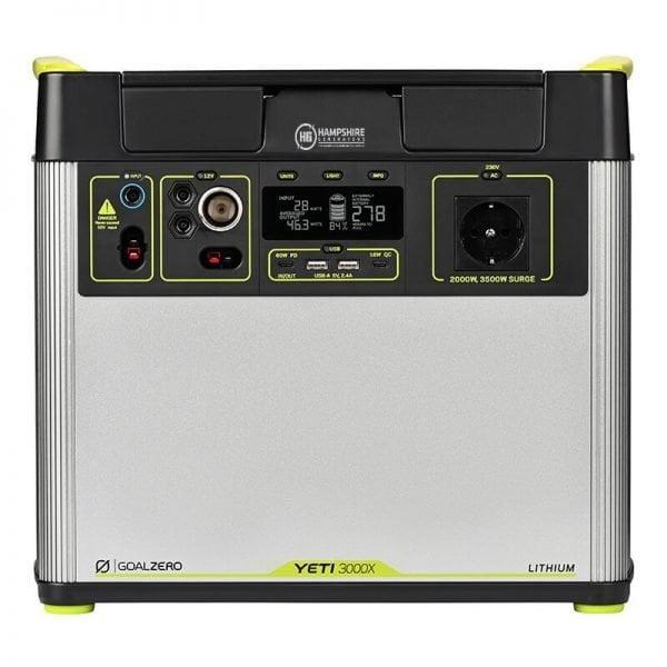 Goal Zero Yeti 3000X 2000W Lithium Portable Power Station 1