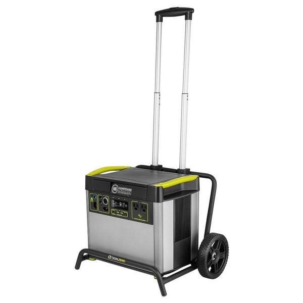 Goal Zero Yeti 3000X 2000W Lithium Portable Power Station Extened cart