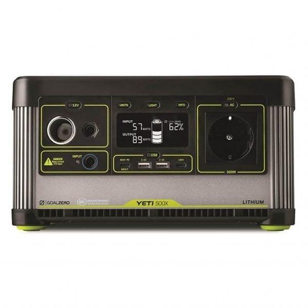 Goal Zero Yeti 500X 300W Lithium Portable Power Station