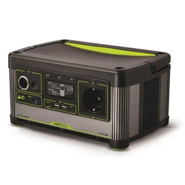 Goal Zero Yeti 500X 300W Lithium Portable Power Station Side View