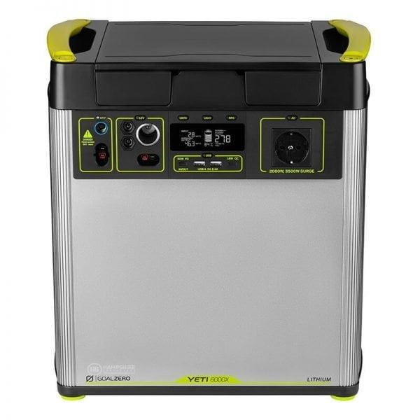 Goal Zero Yeti 6000X 2000W Lithium Portable Power Station