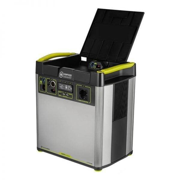 Goal Zero Yeti 6000X 2000W Lithium Portable Power Station Lid Up
