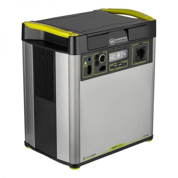 Goal Zero Yeti 6000X 2000W Lithium Portable Power Station Side View