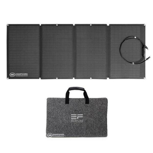 Ecoflow 160W Solar Panel With Case