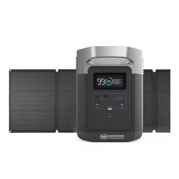 Ecoflow Delta Bundle + 1x Solar Panel