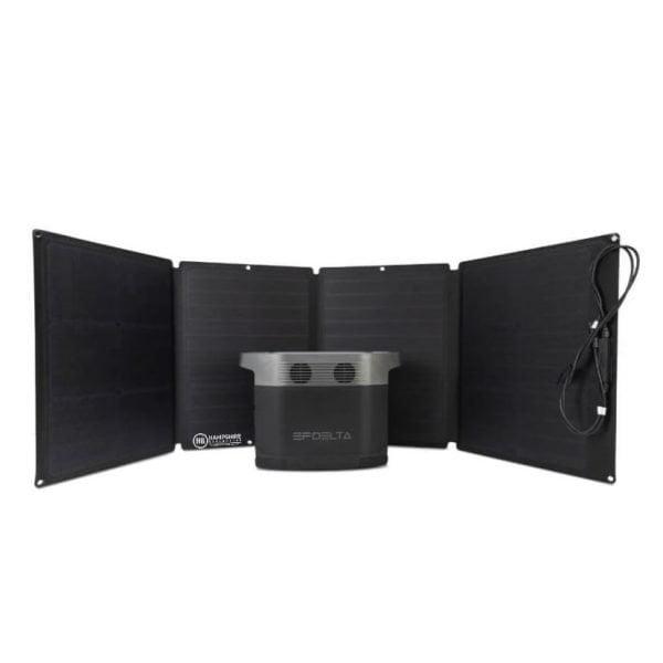 Ecoflow Delta Bundle + 1x Solar Panel Both