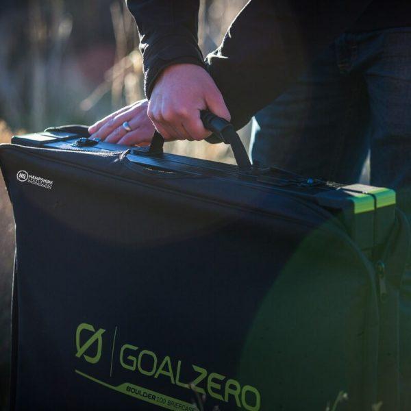 Goal Zero Bolder 100 Briefcase Solar Panel Lifestyle 2