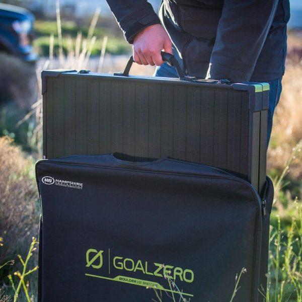 Goal Zero Bolder 100 Briefcase Solar Panel Lifestyle 3