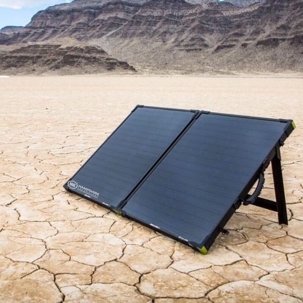 Goal Zero Bolder 100 Briefcase Solar Panel Lifestyle