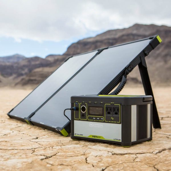 Goal Zero Bolder 100 Briefcase Solar Panel with Yeti