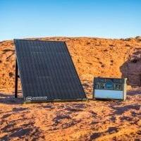 Goal Zero Bolder 100 Solar Panel Lifestyle With Yeti