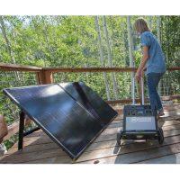 Goal Zero Bolder 200 Briefcase Solar Panel Lifestyle