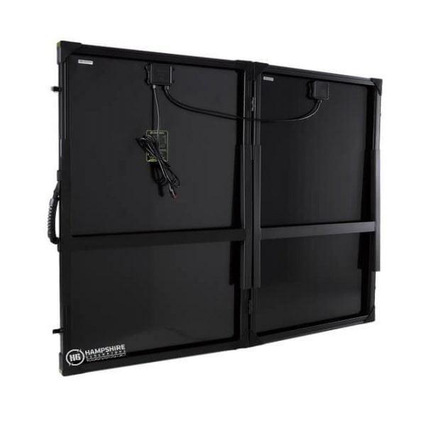 Goal Zero Bolder 200 Briefcase Solar Panel Rear View