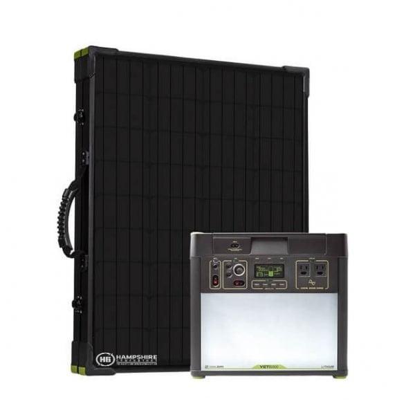 Goal Zero Bolder 200 Briefcase Solar Panel With Yeti