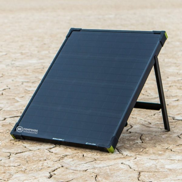 Goal Zero Bolder 50 Solar Panel Lifestyle