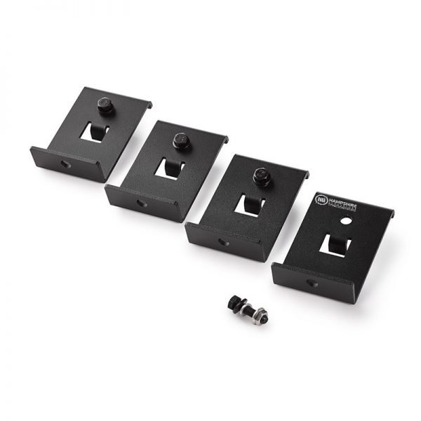 Goal Zero Boulder Mounting Brackets (4 Pack) In a row