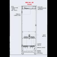 Riello 60kVA UPS MST60 Uninterruptible Power Supply Dimentions 2