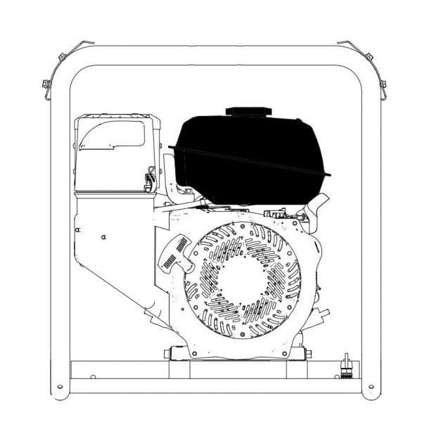Inmesole 21 liters Long Run Fuel Tank For AKR Range