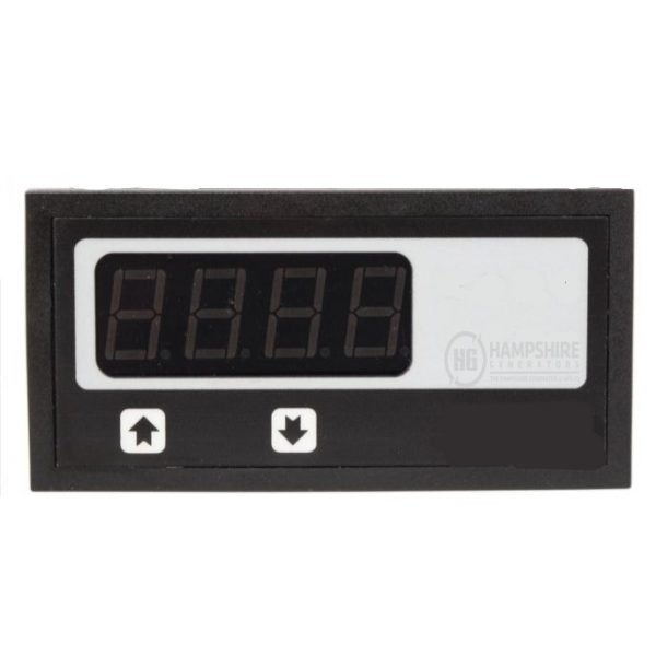 Single Phase Control Panel with Voltmeter & Hours
