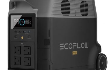 EcoFlow Delta Pro Portable Power Station Right Side View 1