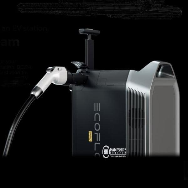 Ecoflow Delta Pro Portable Power Station EV Charging