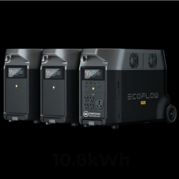 Ecoflow Delta Pro With Smart Extra Battery
