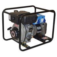Stephill 4000LMEX 4.5kVA Export Diesel Generator Rear View