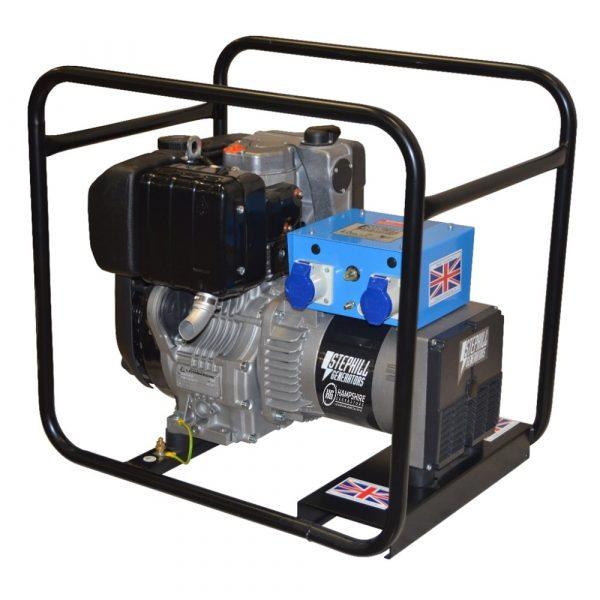 Stephill 4000LMEX 4kVA Export Diesel Generator