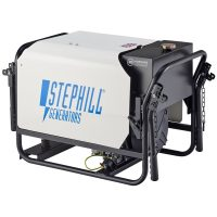 Stephill RT4000DLMC 4 kVA Diesel Generator Rear View