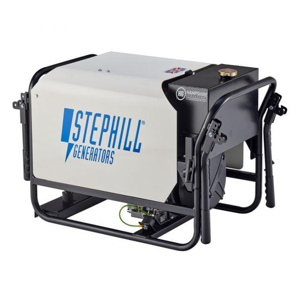 Stephill SE4000DL 4kVA Silenced Diesel Generator Rear View