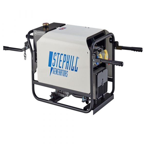 Stephill SE4000DL 4kVA Silenced Diesel Generator With Handles