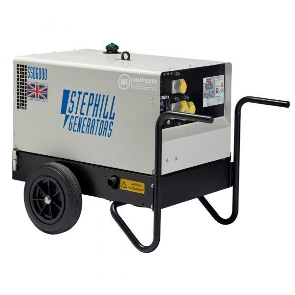 Stephill SSD6000EC 6 kVA Diesel Generator