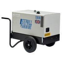 Stephill SSD6000EC 6 kVA Diesel Generator Rear View