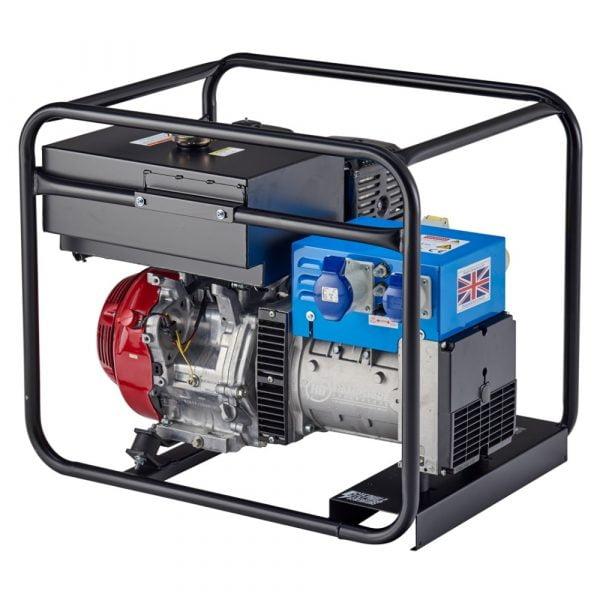Stephill6500HMSLR 6.5 kVA Petrol Generator