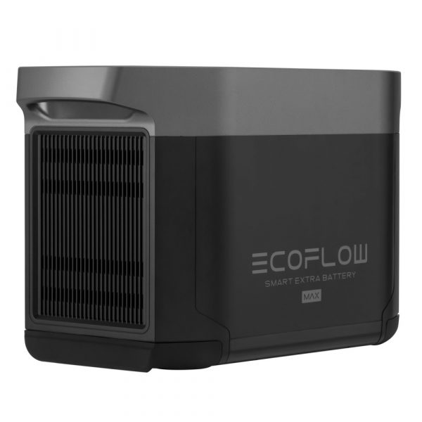 EcoFlow Delta Max Smart Extra Battery Rear Side View 2