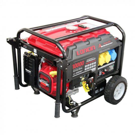 Loncin Open Frame Petrol Generator LC10000D AS 7.3KW