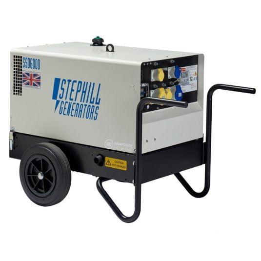 Stephill Diesel Generators SSD6000 6 kVA Silenced