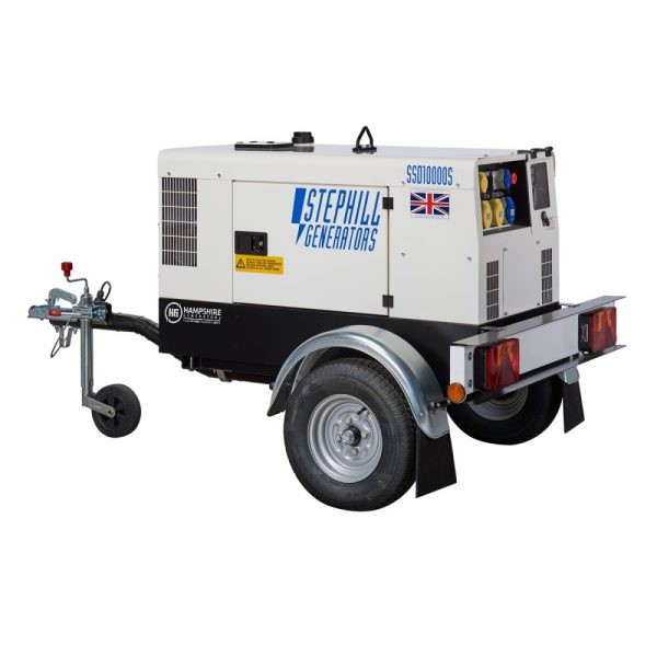Stephill Highway Trailer SSD100000S Ball Hitch