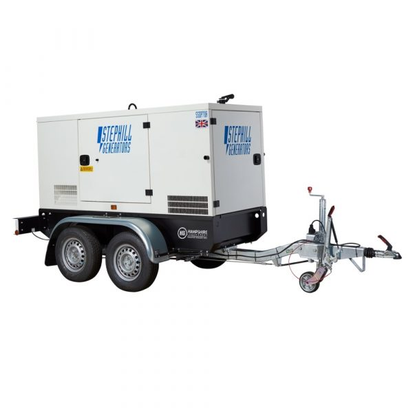 Stephill Highway Trailer SSDP120A Towing Eye Rear View