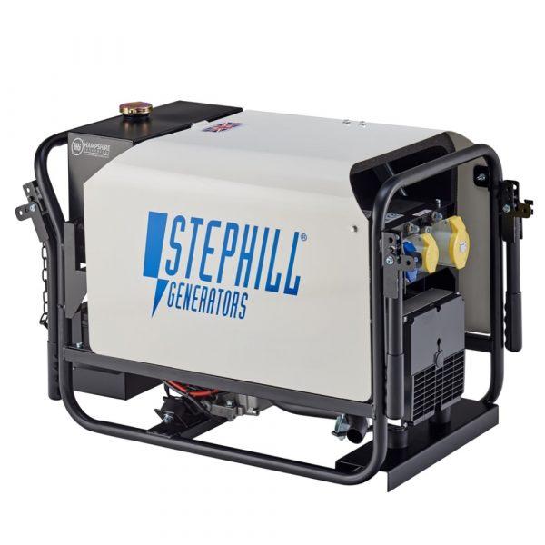 Stephill SE4000DLES 4kVA Silenced Diesel Generator Electric Start