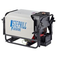 Stephill SE4000DLES 4kVA Silenced Diesel Generator Electric Start Rear View