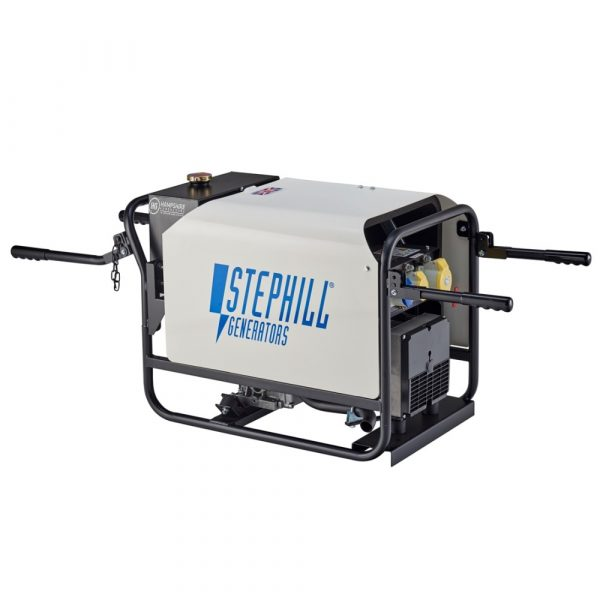 Stephill SE4000DLES 4kVA Silenced Diesel Generator Electric Start With Carry Handles